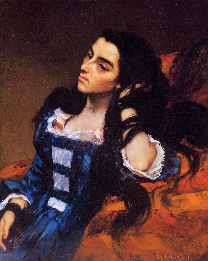 Spanish Woman, 1885 by Gustave Courbet